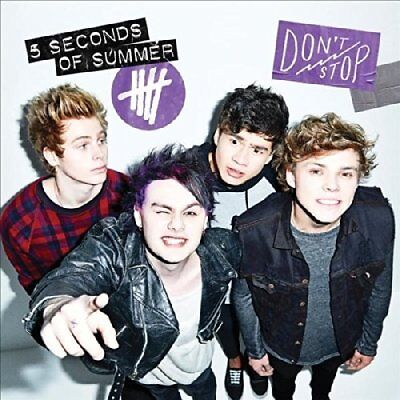5 Seconds Of Summer-Don`t Stop  CD NEW
