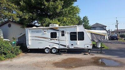 2012 Palomino Stampede Hybrid Camper Rare Find with 3 Tip-Outs