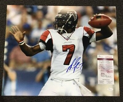768a4d8ac Michael Vick Signed Auto Autograph 16x20 Photo JSA COA Atlanta Falcons ID5