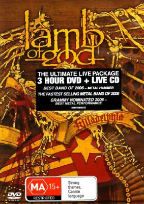 Lamb of God-Killadelphia [+Bonus Dvd]  CD NEW