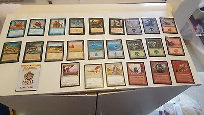 Magic the Gathering Portal Second Age Demo Game 24 Cards + Rules