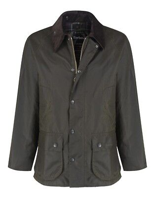 Barbour Bedale Classic Wax Jacket in Olive