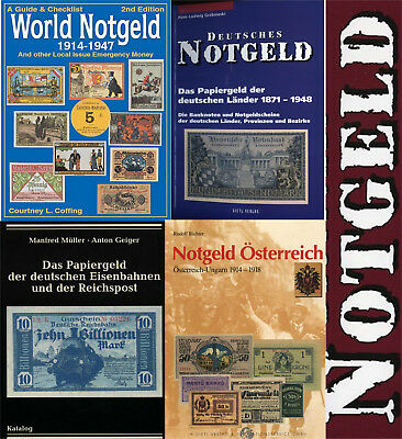 Notgeld / emergency money catalogs lot