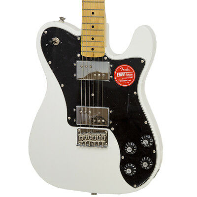 Brand New Fender Squier Vintage Modified Telecaster Olympic White