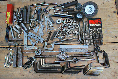 mixed job lot of old engineers tools ,dies ,rules etc recently cleared