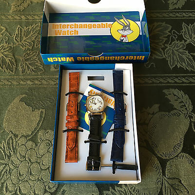 Warner Bros Watch Collection Fossil Wrist Watch Various WB Characters NIB 1996