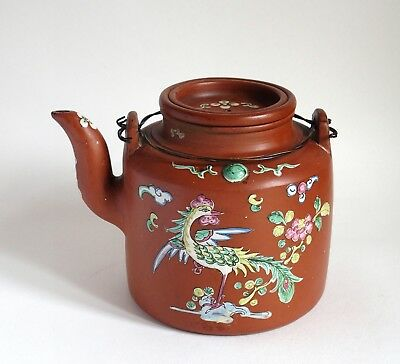Fine large antique Chinese 19th century Yixing teapot