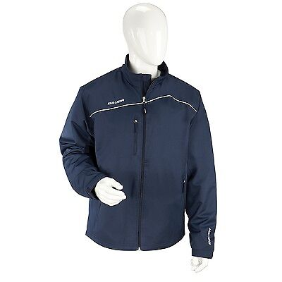 BAUER Lightweight Warm Up Jacke navy / blau Gr. S Size : S