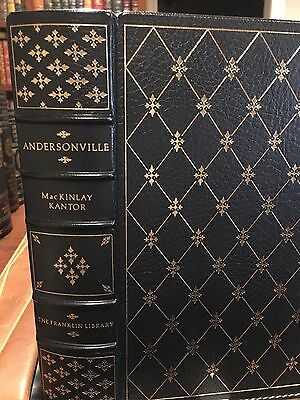 Franklin Library: Civil War Prison: Andersonville, Georgia: MacKinlay Kantor