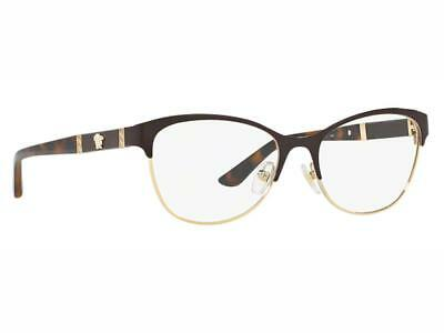 4a3f1d056bb NEW AUTHENTIC VERSACE Eyeglasses VE 1233-Q 1344 Made In Italy 53mm ...