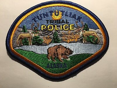 NEU - Polizei Abzeichen / Police Patch - USA - Alaska - City of Tuntutliak - NEU