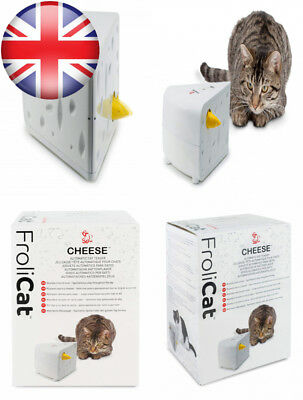 PetSafe FroliCat, Portable, Cheese Automatic Cat Teaser, Engaging, Surprise,...