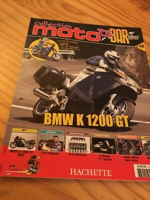Joe Bar Team fasicule n° 40 collection moto Hachette revue magazine brochure