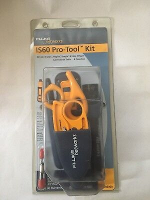 Fluke Networks 11293000 Pro-Tool Kit IS60 with Punch Down Tool NEW  Blister Pack