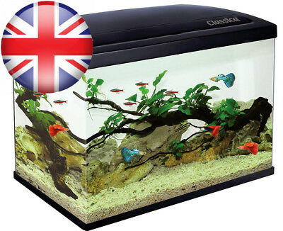 Classica Eco 45 Aquarium 45L Fish Tank Kit Led Lighting, Filter, Free Heater...