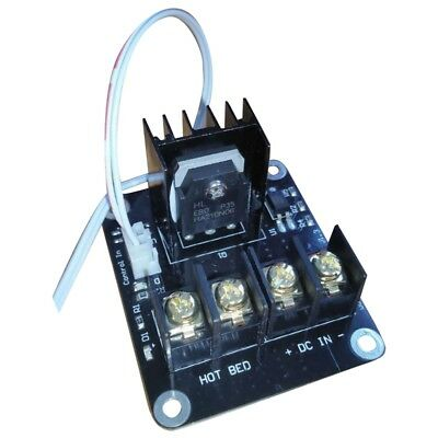 3D Printer hotbed MOSFET expansion module inc 2pin lead Anet A8 A6 A2 Compa P2D4