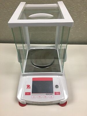 OHAUS AX423N Precision Balance Scale,420g,ABS Plastic G0250218 GREAT CONDITION