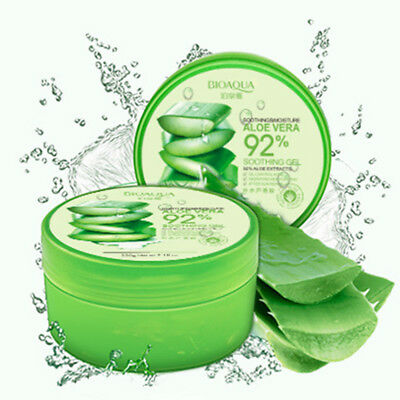 92% Pure ALOE VERA SOOTHING & MOISTURE GEL 300ml 10.58oz FACE FACIAL SKIN CARE