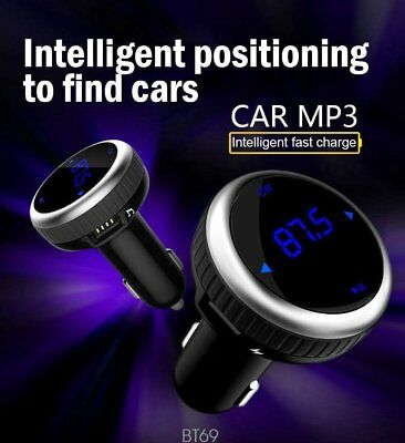 MP3 Player Wireless Bluetooth FM Transmitter Radio Handsfree Car Kit USB Charger