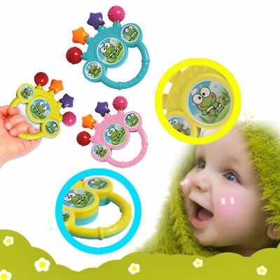 Cartoon Infant Baby Bell Rattles Hand Gift Music Toy For Newborns Children Toys#