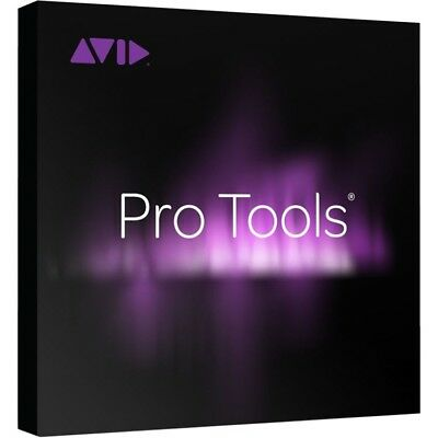 AVID Pro Tools DAW/Recording Software w/Annual Upgrade/Support Plan (Academic)