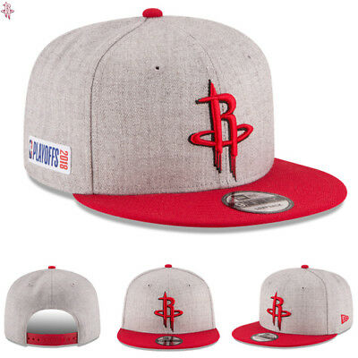 new styles 92101 5b331 ... draft 9fifty adjustable hat gray 3215e 2ae47  discount houston rockets  new era 2018 nba playoffs hat side patch 9fifty snapback cap nwt 7ee2a