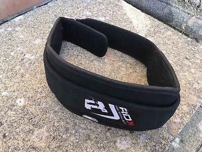 RDX Weight Lifting Belt Gym Training Back Support Power Lumbar Pain Fitness