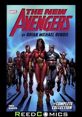 NEW AVENGERS BY BENDIS COMPLETE COLLECTION VOLUME 1 GRAPHIC NOVEL (504 Pages)