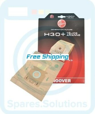 5 x HOOVER Vacuum Cleaner Bags H30 /& H52 Type  T2200 T2300 T2210 T2310 T2305
