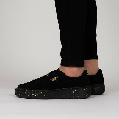 PUMA SUEDE PLATFORM Celebrate Women s Casual Sneakers Black 365621 ... a5bf91d60