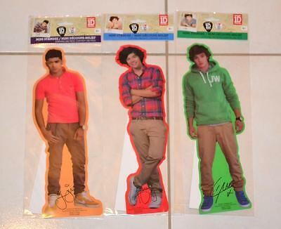 """Official 1D One Direction 12"""" Standee ZAYN,LIAM, HARRY ,BRAND NEW,SEAL+ BONUS"""