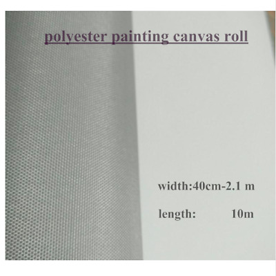 Primed Canvas Roll Blank Polyester High Quality Oil Painting Artist Supplies