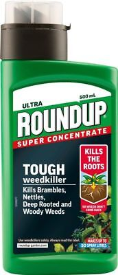 Roundup Ultra Super Concentrate Weed killer 500ml