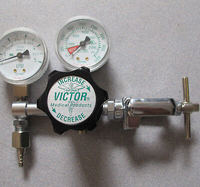 Victor Medical Oxygen Compressed Gas Regulator VMG-05LY with CGA-870 Clamp