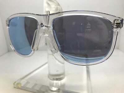 cf539fa5d0 Authentic Ray Ban Sunglasses Rb4147 6325 1U Transparent Blue Flash Silver  60Mm