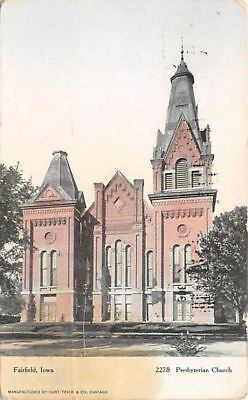 Boone IA~Big Square House by 1st Presbyterian Church~703 Green St~1920