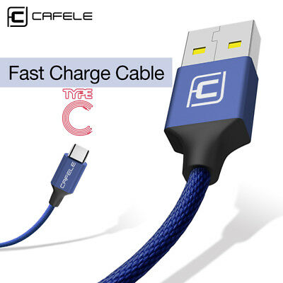 1.8M Type C USB Cable Fast Charger Data Sync Charging Cord for Samsung S8 S9 S9+