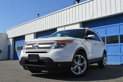 Ford Explorer Limited Leather Heated Ventilated Seats Navigation Rear View Camera Blind Spot Monitor