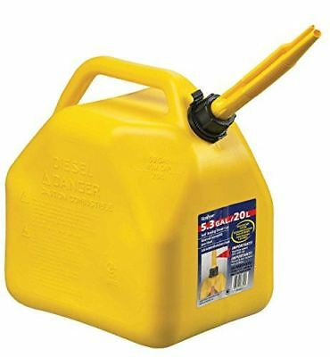 Scepter 7649 7649 20 Liter/5.3 Gallon Diesel Fuel Can, Yellow