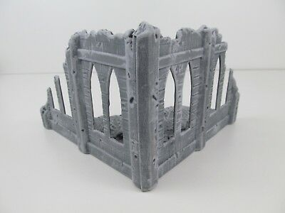 Amera 20-28mm Plastic Ruined Chapel Painted for Frostgrave Wargame Sigmar