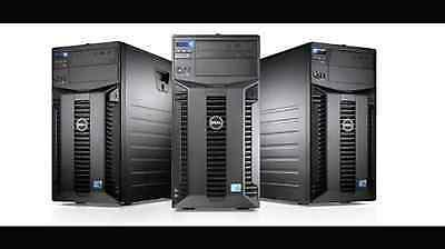 DELL POWEREDGE T610 4 CORE TOWER SERVER XEON E5520 2.26GHZ 24GB  4 x SAS HDD
