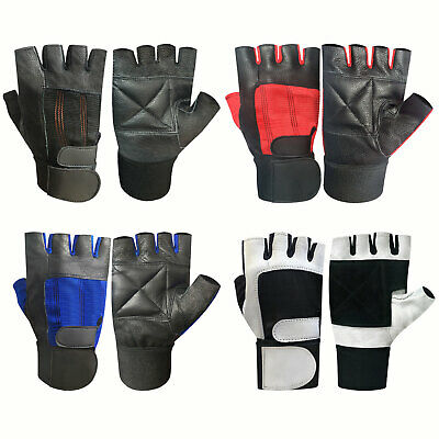 Gym Fitness Weight Lifting Workout Training Body Buliding Gloves Straps 201-204