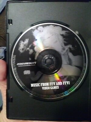 MUSIC CD FROM (FFV AND FFVI) Final Fantasy