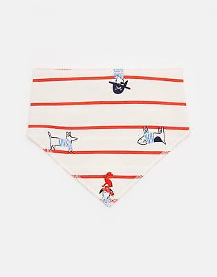 Joules Bibby Reversible Bib in SEA DOG STRIPE in One Size