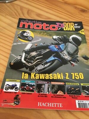 Joe Bar Team fasicule n° 25 collection moto Hachette revue magazine brochure