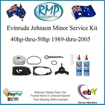 1 x Minor Gear Box Service Kit Evinrude Johnson 40hp-thru-50hp 1989-thru-2005 R