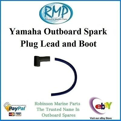 A Brand New Yamaha Outboard Aftermarket Spark Plug Lead and Boot