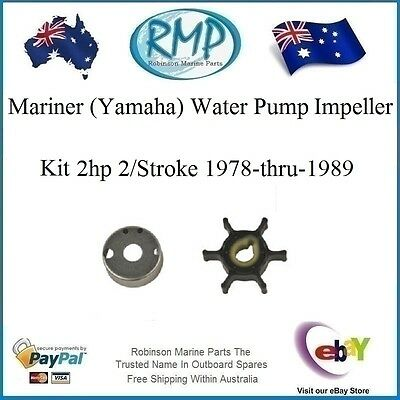 A New Mariner (Yamaha) Impeller Kit 2hp 2/Stroke 1978-thru-1989 # R 646-44352-00