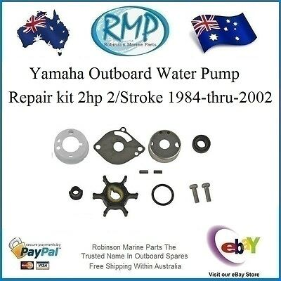 A Brand New RMP Yamaha Water Pump Repair Kit 2hp 1984-thru-2002 # R 6A1-W0078-01