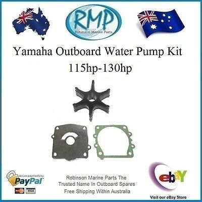 A Brand New Water Pump Kit Yamaha Outboards 115hp-130hp # R 6N6-W0078 Nice